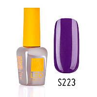 Гель-лак для ногтей LEO seasons №223 Плотный фиолетовый (эмаль) 9 мл