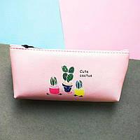 Пенал Cactus Simple Print дизайн-1