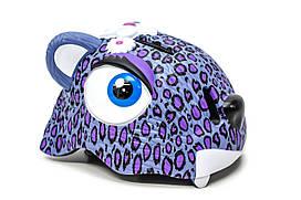 """Шолом дитячий велосипедний """"Пурпурний леопард"""" CIGNA, HEAD-042"""