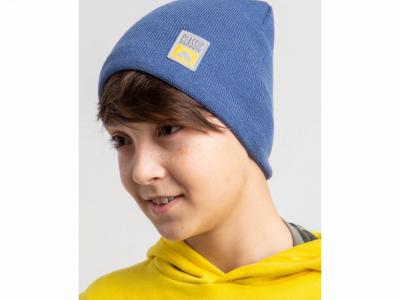Однотонная весенняя шапка для мальчика - модель 2020 - Артикул 2601