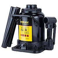 Домкрат гидравлический бутылочный низкопрофильный 20т H 185-355мм Sigma (6101211)