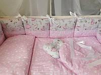 Набор детского постельного белья BONNA(Балерина) 9 предметов