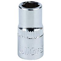 """Насадка шестигранная короткая 1/4"""" 7мм CrV ULTRA (6060072)"""