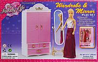 Мебель для Барби 2313 гардеробная