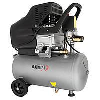 Компресор одноциліндровий 1.8 кВт 230л/хв 8бар 24л (2 крана) Sigma (7043131)