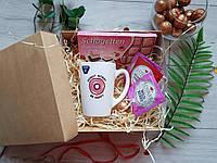 Подарочный набор для девушки с чашечкой