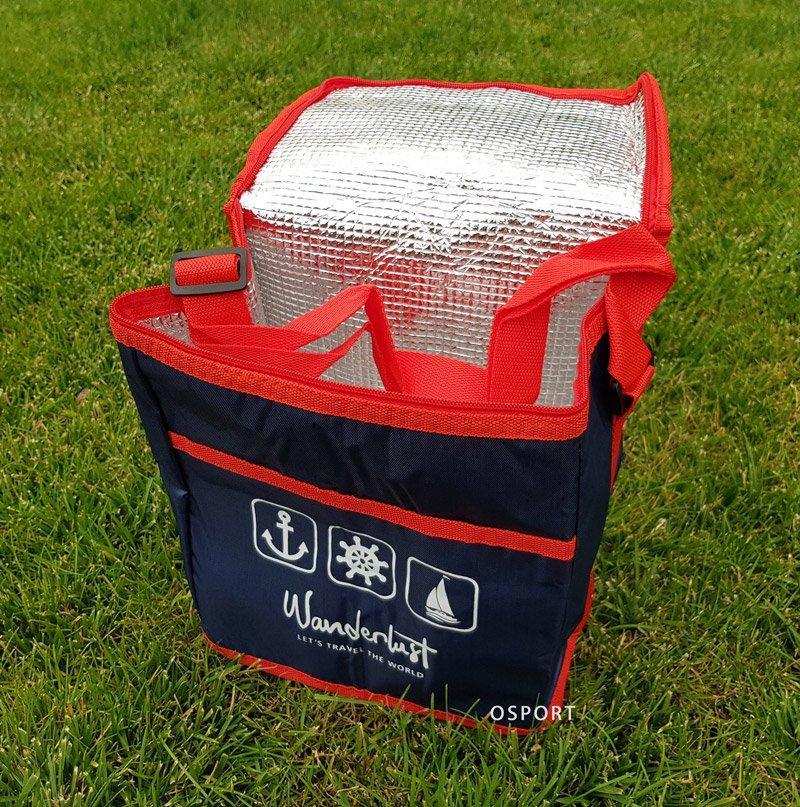 Термосумка (сумка-холодильник, термобокс) для еды и бутылочек 10л Wanderlust (R28803)