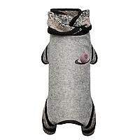 Трикотажный комбинезон для собаки Юпитер XS-2, Длина спины 26-28 см, обхват груди 32-38