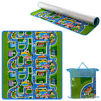 Детский развивающий игровой коврик (теплый пол) OSPORT Городок (M 5805)