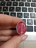 Кольцо рубин. Размер 17. Кольцо с рубином. Индия!, фото 5