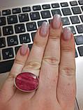 Кольцо рубин. Размер 17. Кольцо с рубином. Индия!, фото 4