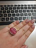 Кольцо рубин. Размер 17. Кольцо с рубином. Индия!, фото 3