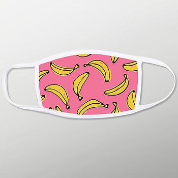 Защитная маска на лицо из двухслойной ткани с карманом для фильтра