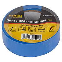 Изолента ПВХ (синяя) 0,13мм×19мм×10м Sigma (8413401)