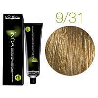 Крем-краска для волос L'Oreal Professionnel INOA Mix 1+1 №9/31 Бежевая корица 60 мл
