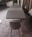 Раскладной обеденный стол PORTLAND 160/210-95 стеклокерамика мокко Nicolas (бесплатная доставка), фото 8