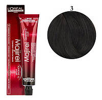 Крем-краска для волос L'Oreal Professionnel Majirel №3 Темный шатен 50 мл