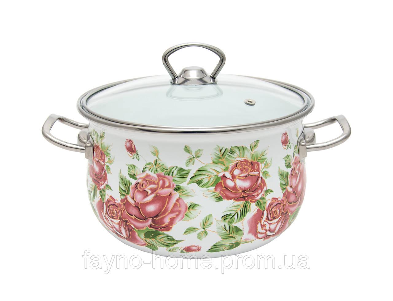 Купить Каструля INFINITY Троянда (3.7 л) 20 см (6510161)
