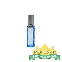 Флакон-спрей стеклянный (12 мл) тара для духов и антисептиков(голубой)