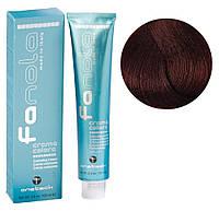 Крем-краска для волос Fanola №5/66  Light chestnut intense red100 мл