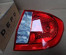 Фонарь задний правый DEPO Hyundai Getz 2006-2010 2211936RUE