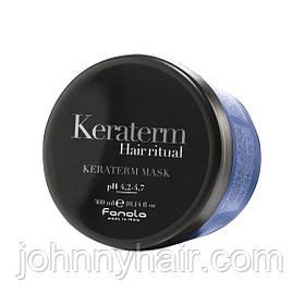 Маска для реконструкції пошкодженого волосся Fanola Keraterm 300 мл