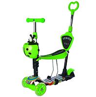 Детский самокат-толокар Maxi Micro трёхколесный Божья коровка Салатовый (JR 3-026-B)