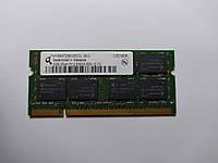 Оперативная память для ноутбука SODIMM Qimonda DDR2 2Gb 667MHz PC2-5300S (HYS64T256020EDL-3S-C) Б/У, фото 1