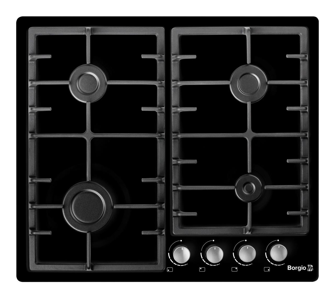 Варочная поверхность газовая BORGIO 6940-15 (Black Enamelled) FFD
