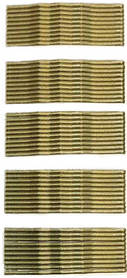 Невидимки для волосся Sibel золоті 55 мм 500 г
