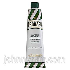 Крем для бритья с экстрактом эвкалипта и ментола Proraso Green Line 10 мл