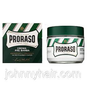 Крем до бритья с экстрактом эвкалипта и ментола Proraso Green Line 100 мл