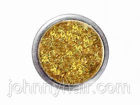 Соломка в баночці для нігтів золота №2 А286-2