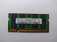 Оперативная память для ноутбука SODIMM Samsung DDR2 1Gb 667MHz PC2-5300S (M470T2953EZ3-CE6) Б/У, фото 1