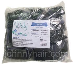 Стрінги чоловічі окантовані Doily чорні L/XL 50 шт