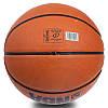 Мяч баскетбольный резиновый №7 SPALD BA-1309 NBA, резина, бутил, коричневый, фото 3