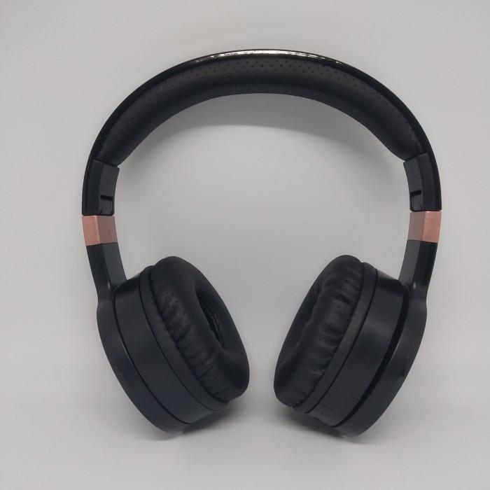 Беспроводные Bluetooth Стерео наушники Gorsun GS-E88A Чёрные с золотым Оригинал
