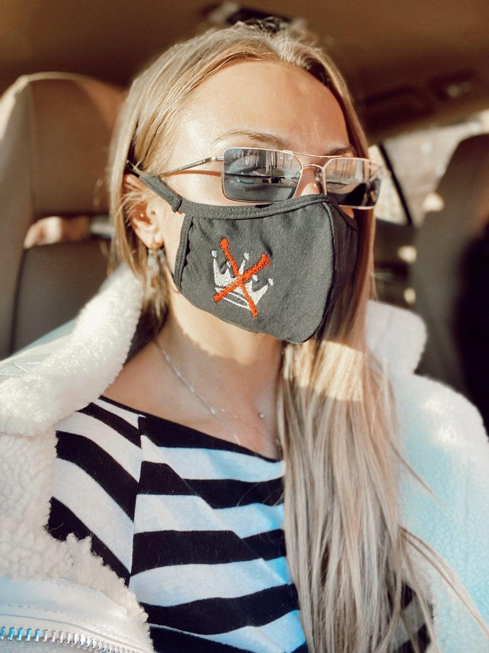 Защитная дышащая маска для лица 18ar04