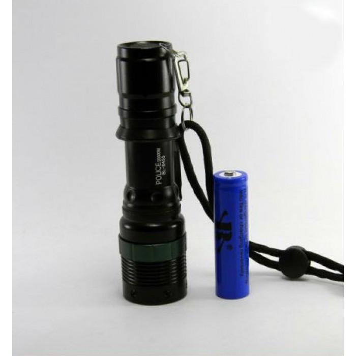 Тактический фонарь POLICE BL 8455 Q5 50000W фонарик 500 Lumen Оригинал