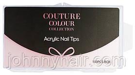 Формы для наращивания силиконовые Couture color Acrylic Nail Tips 100 шт