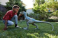 Огромный Велоцираптор Блю Jurassic World Super Colossal Velociraptor Blue, фото 1