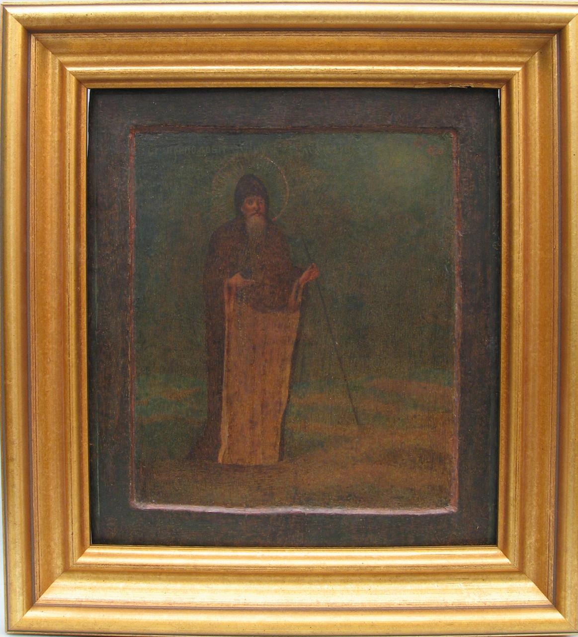 Икона св. Макарий 19 век