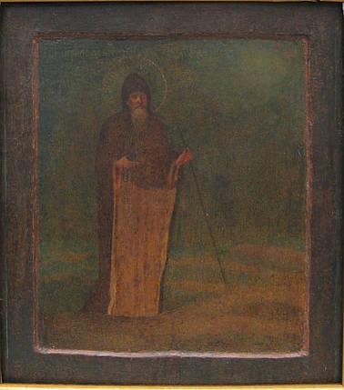 Икона св. Макарий 19 век, фото 2