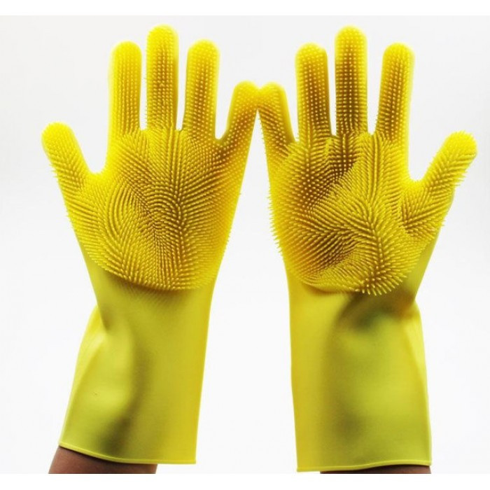 Перчатки для мытья Super Gloves №21 в пакете Оригинал