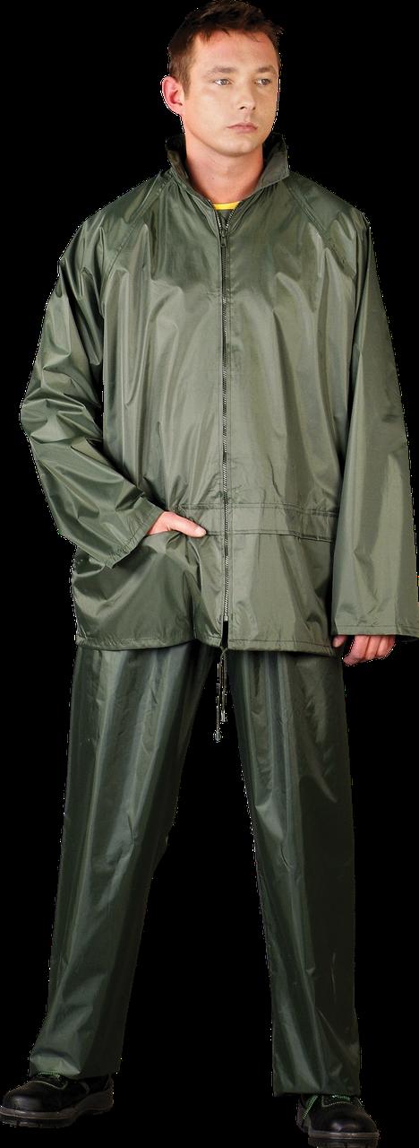 Комплект от дождя из брюк и куртки REIS L Зеленый (KPL-Z-L)