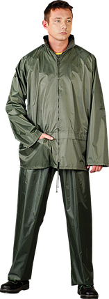 Комплект от дождя из брюк и куртки REIS L Зеленый (KPL-Z-L), фото 2
