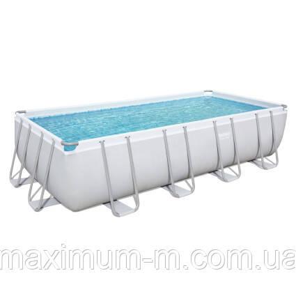 Bestway Каркасный бассейн Bestway 56466 (549х274х122 см) с песочным фильтром, лестницей и тентом