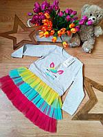 Платье Единорог от Breeze для девочек 3-8 лет Турция, фото 1
