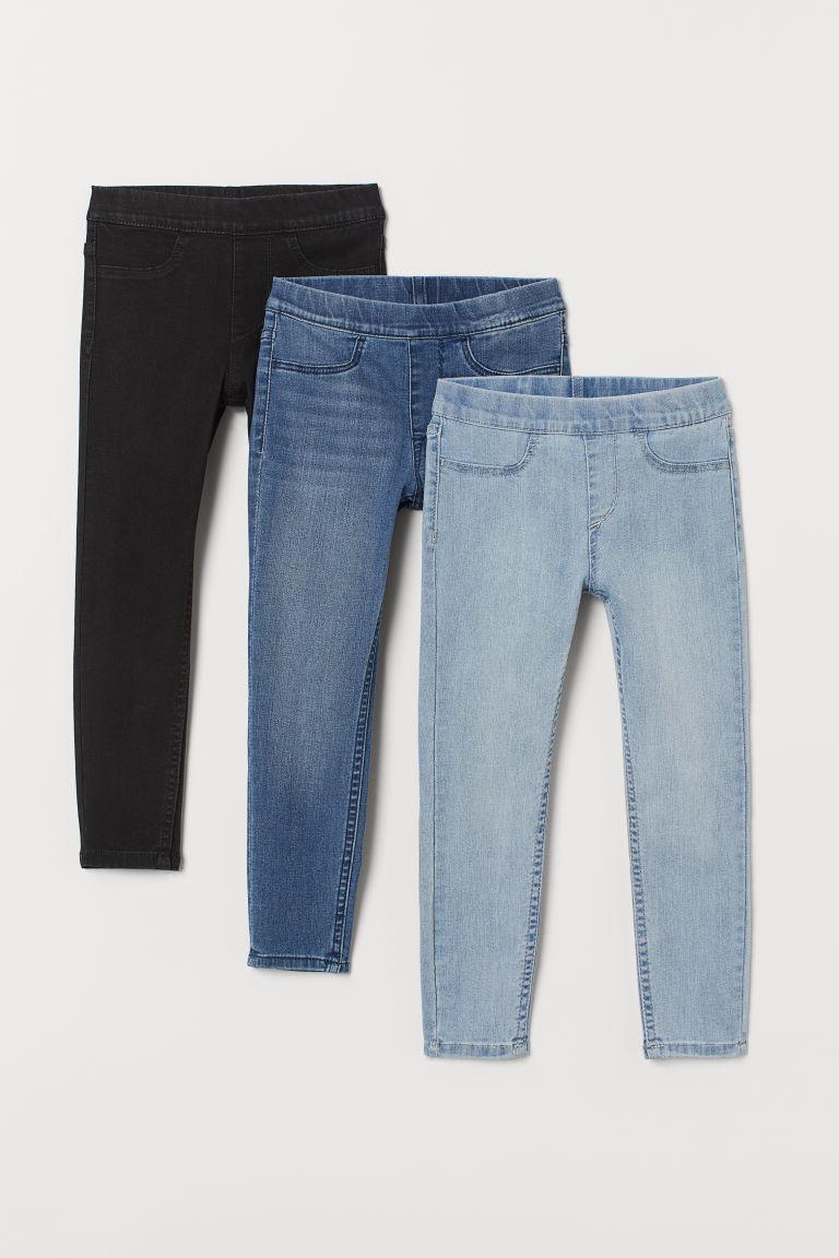 Джегинсы джинсовые детские H&M р. 140см.