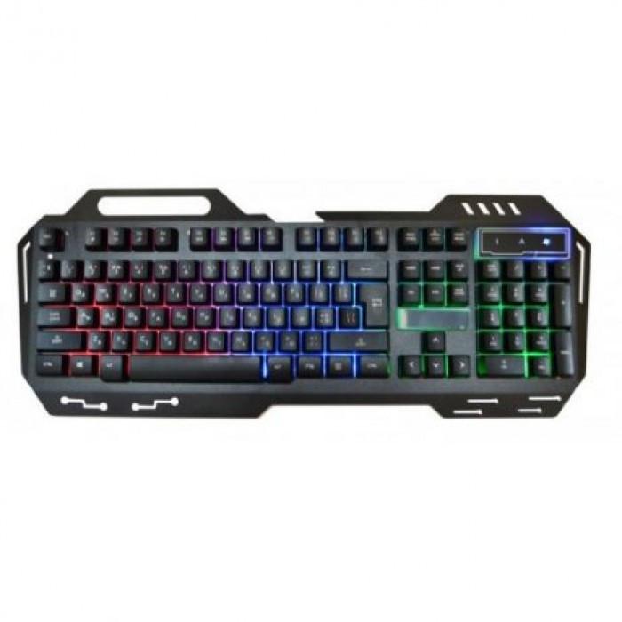 USB проводная компьютерная клавиатура GK-900 KW 900 с подсветкой Оригинал
